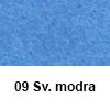 Filc 50 x 70cm debelina 3mm 09 Svetlo modra (art. 5301-09)