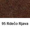 Filc 50 x 70cm debelina 3mm 95 Rdečo rjava (art. 5301-95)