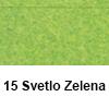 Filc 50 x 70cm debelina 3mm 15 Sv. Zelena (art. 5301-15)