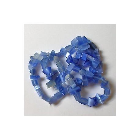kamenčki,tem. modri, 40cm