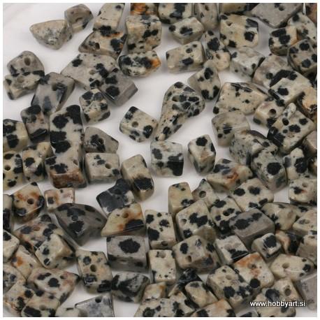 Poldrago k. čips 6-9mm, Dalmatin Jasper, 40cm