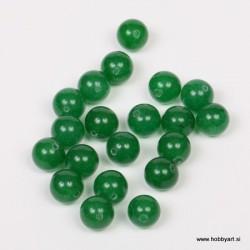 Poldrago kamenje 10mm, Zeleni žad, 20 kosov