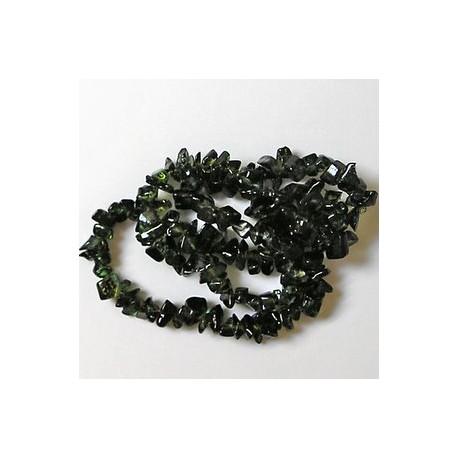 kamenčki, prosojno zeleni, 40cm