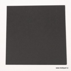 Komplet p. lanena struktura 15 x 15cm, Črna 25 kosov