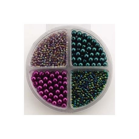 Komplet perl, 4 različne barve