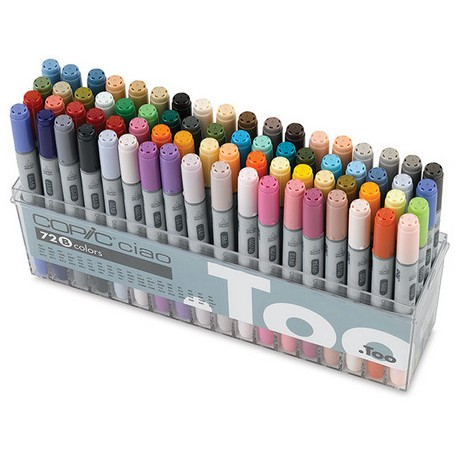 Copic CIAO set 72 B