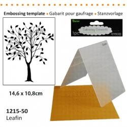 Embossing plošča Drevo 10,8 x 14,5cm