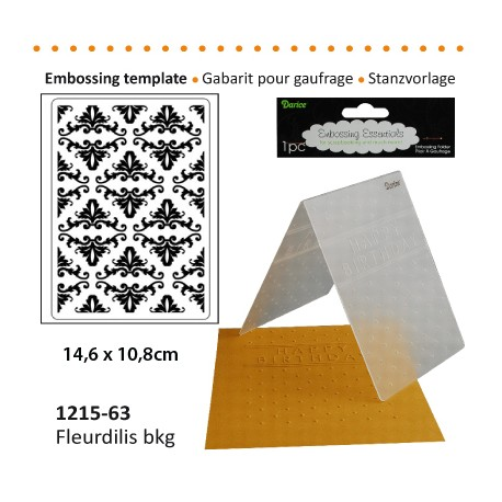 Embossing plošča Bordure 10,8 x 14,5cm
