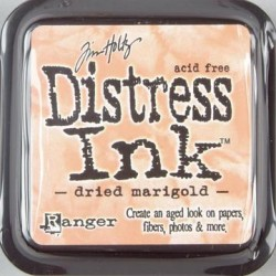 Tim Holtz Distress blazinica 5 x 5cm, Dried marigold