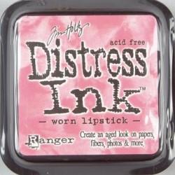 Tim Holtz Distress blazinica 5 x 5cm, Worn lipstick