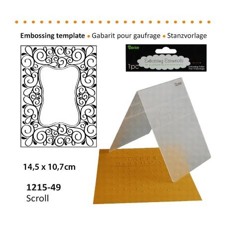 Embossing plošča Okvir 10,8 x 14,5cm