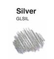 Copic Spica markerji z bleščicami 12 Silver (art. 24000 12)