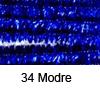 Kosmate žičke svetleče 50cm x 8mm, 6 kosov, Modre (art. 12218-1834)