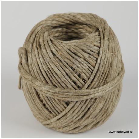 Vrvica iz naravnih vlaken 0,6/2 40m