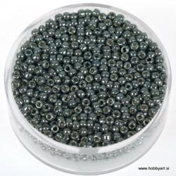 Miyuki metalne perle 2,2mm, Siva 9g.