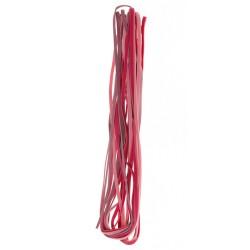 Velur vrvica 3mm 3 x 2m, Pink barve