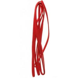 Velur vrvica 5mm, Rdeča, 2m