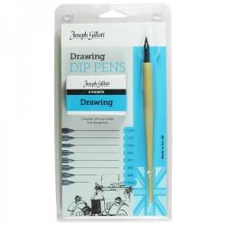 Joseph Gillott Drawing pens komplet