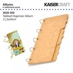 Kaiser craft album MDF 11,5 x 24cm