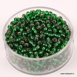 Perle Rocailles 3,5mm sr. sredica Zelena, 17g
