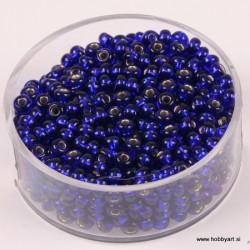Perle Rocailles 3,5mm sr. sredica Lapis, 17g