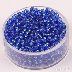 Perle Rocailles 3,5mm sr. sredica Saphir, 17g