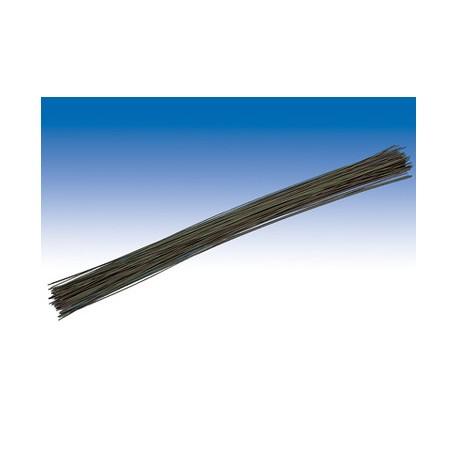 Žica ravna dolžina 30cm, premer 1,0mm, Zelena 25 kosov