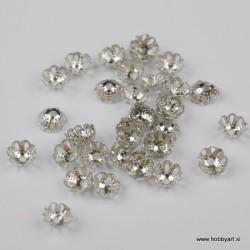 Kapice za perle 6mm, 35 kosov