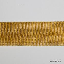 Organza Žice 20mm x 1m, Zlata