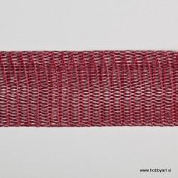 Organza Žice 20mm x 1m, Rdeča