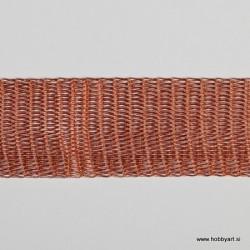 Organza Žice 20mm x 1m, Oranžna