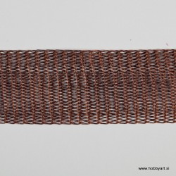 Organza Žice 20mm x 1m, Rjava