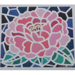 Mozaik nalepka Roža 10 x 10cm