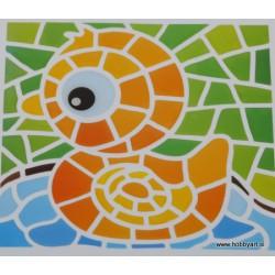 Mozaik nalepka Račka 10 x 10cm