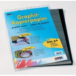 Grafitni papir za kopiranje 10 listov A4