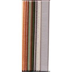 Komplet dekorativnih tekstilnih trakov Klasik 4 x 91cm