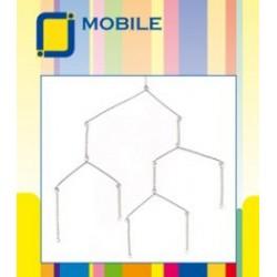 Osnova za mobile Srebrne barve