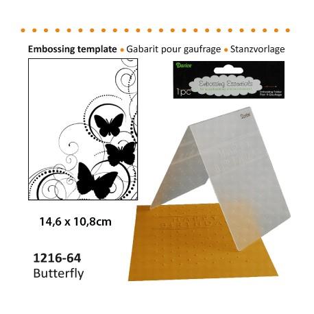 Embossing mapa 10,8 x 14,6cm, Metulji