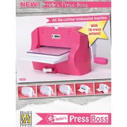 Nellies Press Boss A4 naprava za rezanje in embossing