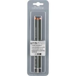 Cretacolor akvarelni grafitni svinčniki HB + 4B + 8B