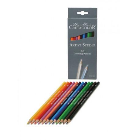 Artist Studio line barvice set 12