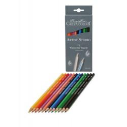 Artist Studio line akvarelne barvice set 12