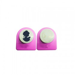 Cameo luknjač in embossing Lady mini