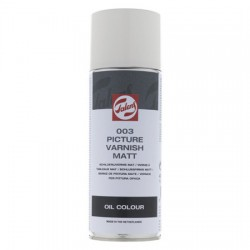 Zaščitni lak v spreju za oljne barve 400ml mat 003