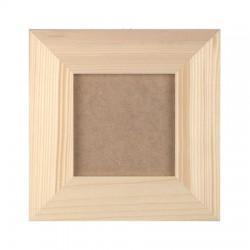 Okvir z ozadjem zunaji premer 26x26cm, notranji premer 16x16cm