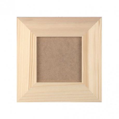 Okvir z ozadjem zunaji premer 21x21cm, notranji premer 11x11cm