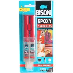 Bison epoxy dvokomponentno 5 minutno lepilo 24ml