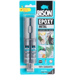 Bison epoxy Metal dvokomponentno lepilo 24ml