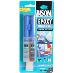 Bison epoxy Univerzal dvokomponentno lepilo 24ml