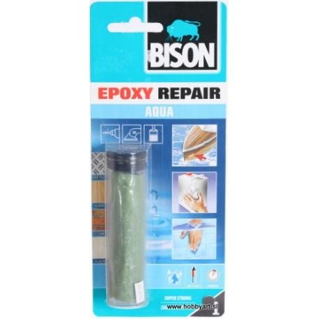 Bison epoxy Repair aqua lepilo 56g.